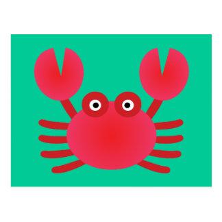 Fun Crab Postcard