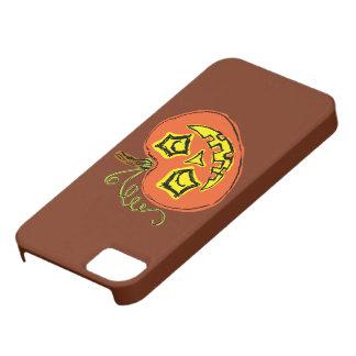 Fun & Creepy Orange Pumpkin iPhone SE/5/5s Case