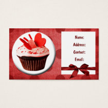 fun cupcake business Cards