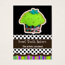 fun cupcake business Cards