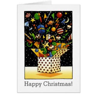 Fun Custom Happy Christmas Gifts Greeting Card