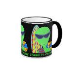 Fun Custom LGM Alien I Need A Vacation Mug