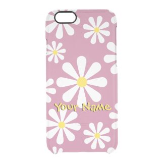 Fun Custom Vintage Daisy Pink, Yellow and White
