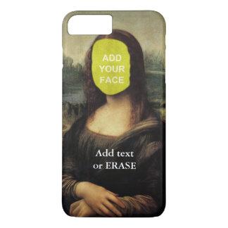 """Fun customizable Leonardo Da Vinci """"Mona Lisa""""… Cl iPhone 7 Plus Case"""