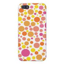 fun cute dotty  Pattern Iphone4 casing iPhone SE/5/5s Cover