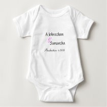 Fun Cute Personalized Baby One Piece Baby Bodysuit