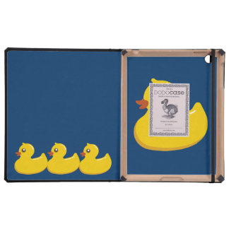 Fun Cute Yellow Rubber Ducky Covers For iPad