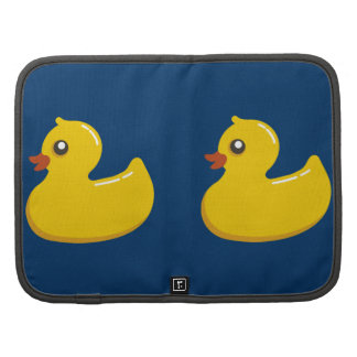 Fun Cute Yellow Rubber Ducky Planners