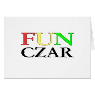 Fun Czar Cards
