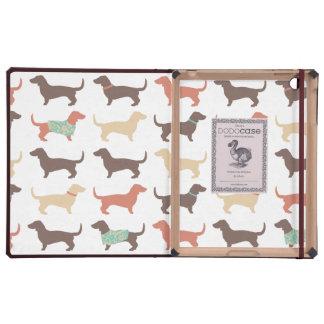 Fun Dachshund Dog Pattern