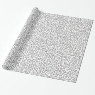 Fun Dancing Pandas Pattern Wrapping Paper