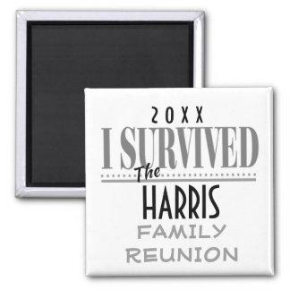 Fun Dated Family Reunion Souvenir Gift Magnet