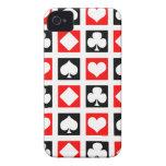 Fun Deck of Cards iPhone 4 Case-Mate Case