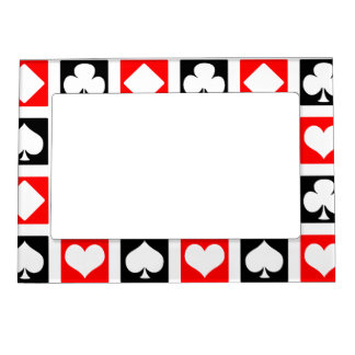 Fun Deck of Cards Magnetic Picture Frame