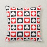 Fun Deck of Cards Pillow