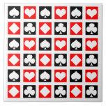 Fun Deck of Cards Tile