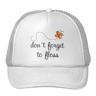 Fun Dental Don't Forget To Floss Dentist Gift Trucker Hat