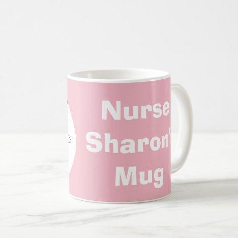 Fun Design for a Nurse Coffee Mug