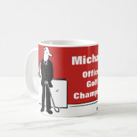 Fun Design for the Golf Lover Coffee Mug