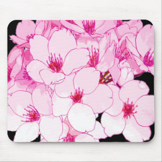 """""""Fun Designs """" Flower Pink Mouse Pad"""