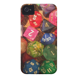 Fun Dice design for gamers Case-Mate iPhone 4 Case