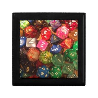 Fun Dice design for gamers Gift Box
