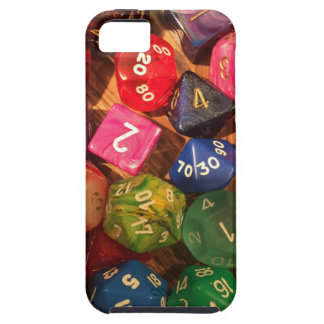 Fun Dice design for gamers iPhone SE/5/5s Case