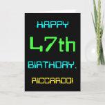 [ Thumbnail: Fun Digital Computing Themed 47th Birthday ]