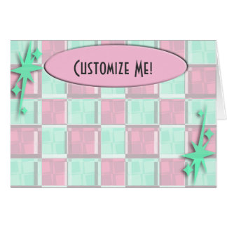 Fun Diner Style Greeting Card