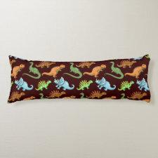Fun Dinosaurs Pattern Body Pillow