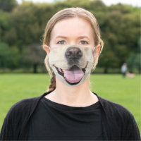 Fun Dog face Animal Cloth Face Mask