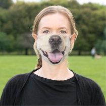 Fun Dog face Animal Cloth Face Mask