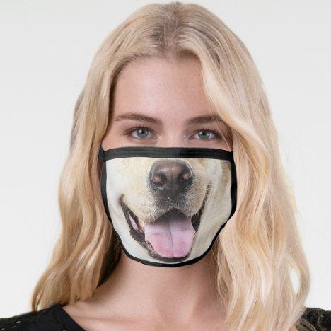 Fun Dog face Animal Face Mask