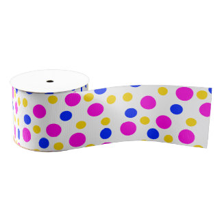 Fun Dots Grosgrain Ribbon