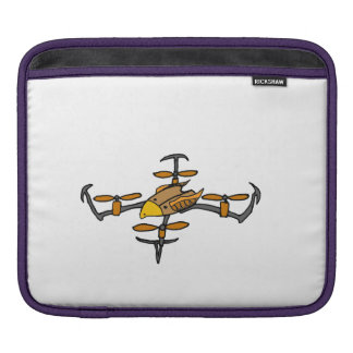 Fun Drone Flying Eagle Design Sleeve For iPads