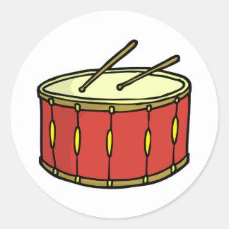 Fun Drum Doodle Stickers
