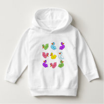 Fun Ducks Toddler Hoodie