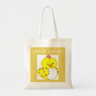 Fun! Ducky Quack Quack Diaper Tote Bag