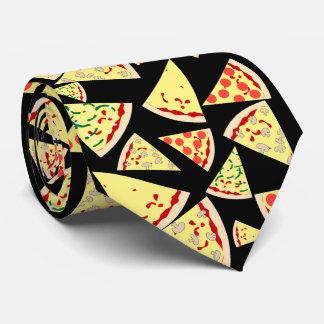 Fun Dynamic Random Pattern Pizza Lover's Tie