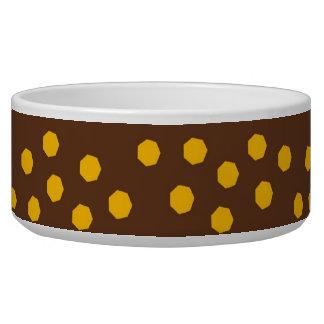 Fun Earth Tone Striped Pattern Bowl