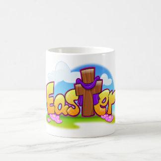 Fun Easter cartoon mug