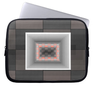Fun Electronics Case Optical Illusion Grey