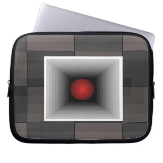 Fun Electronics Case Optical Illusion Grey 6