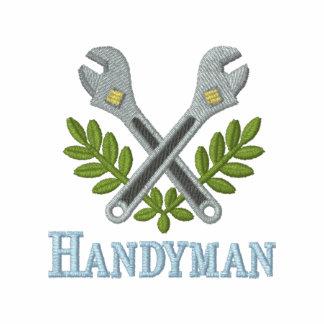 Fun Embroidered Handyman T-shirt Polo