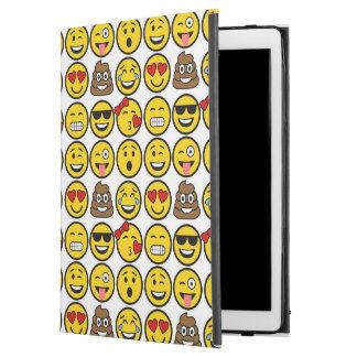 """Fun Emoji Pattern Emotion Faces iPad Pro 12.9"""" Case"""