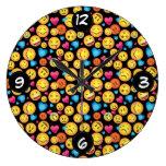 Fun Emoji Wall clock