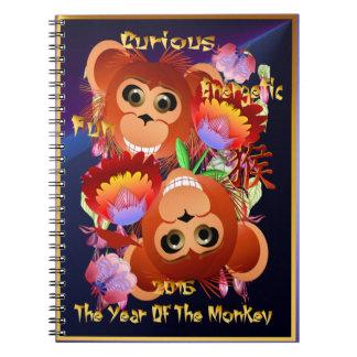 Fun-Energetic-Curious Spiral Notebook