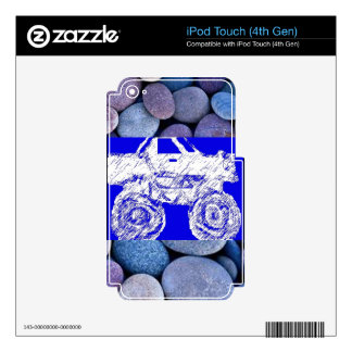 Fun & Entertainment Skin For iPod Touch 4G