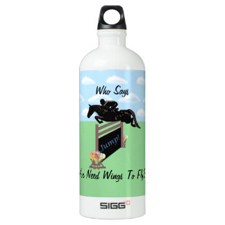 Fun Equestrian Horse Jumper SIGG Traveler 1.0L Water Bottle