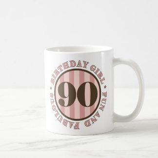 Fun & Fabulous 90th Birthday Gifts Coffee Mug